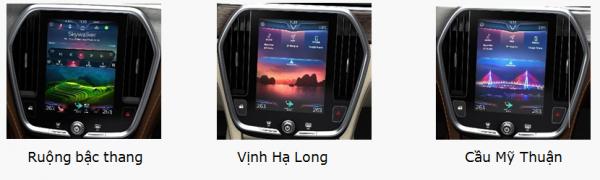 VinFast Lux A2.0 hình nền là các cảnh đep Việt Nam