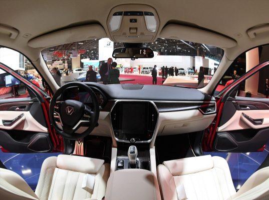 Xe được trang bị màn hình cảm ứng 10.4 inch