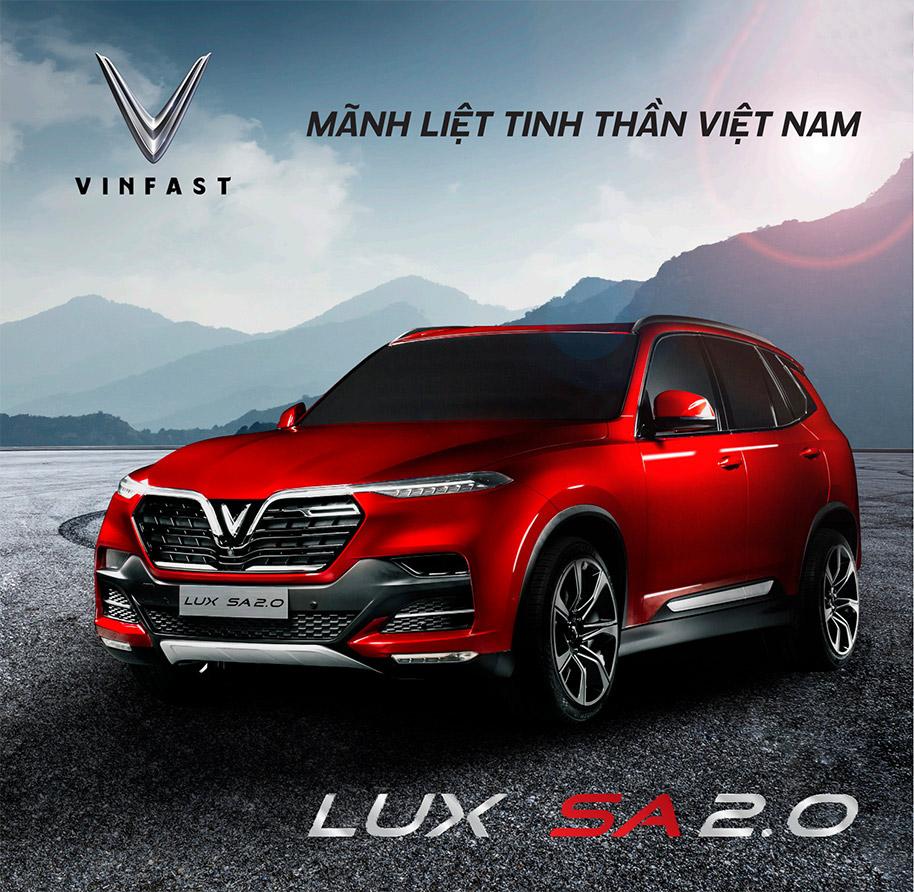 Tham khảo bảng giá full option xe VinFast lux sa2.0 trước khi mua xe